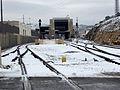תחנת הרכבת מלחה בשלג.JPG