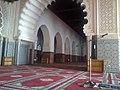 تصميم مغربي أصيل مزخرف و منقوش باليد باستعمال الجبص لمسجد حسان.jpg