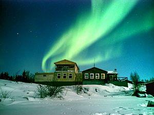 Aurora at Yellowknife