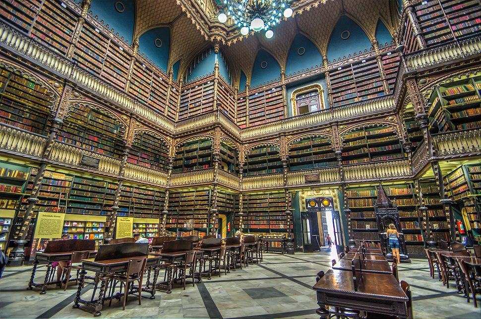 リオの幻想図書館 Real Gabinete Portugues de Leitura (8735773218)