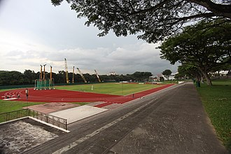 Hwa Chong Institution - The school track and field