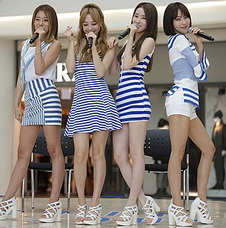 Melody Day (band) South Korean girl group