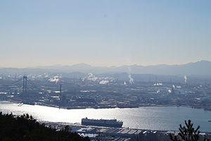 Ulsan - Image: 울산,공단,대교