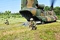 12B・第1回旅団演習 関山でのヘリボン攻撃(卸下) 教育訓練等 286.jpg