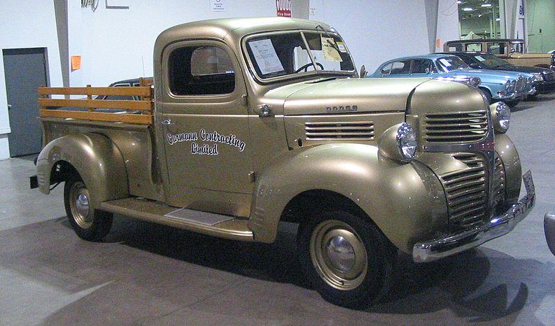 file 39 47 dodge pickup toronto spring 39 12 classic car. Black Bedroom Furniture Sets. Home Design Ideas