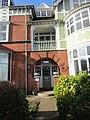 -2020-02-01 Front Door of Wood Dene built in 1901, Cliff Avenue, Cromer.JPG