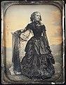 -Woman in Black Taffeta Dress and Lace Shawl- MET 37.14.4.jpg