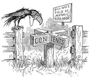 Edgar Wilson Nye - Image: 009 Contents