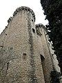 013 Castell de Santa Florentina (Canet de Mar), ala originària, torres.JPG