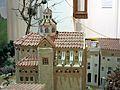 027 Maqueta del poble de Mont-roig del Camp al Centre Miró, església de Sant Miquel.jpg