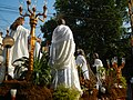 02833jfGood Friday processions Baliuag Augustine Parish Churchfvf 02.JPG