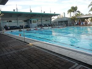 Makati Park and Garden - Makati Aqua Sports Arena