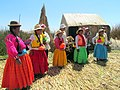 051 People Uros Islands of Reeds Lake Titicaca Peru 3102 (15182111835).jpg