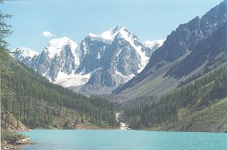Altai Republic - Shavlo Lake in Northern Chuysky Range
