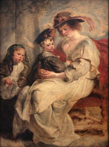 File:0 Hélène Fourment et deux de ses enfants - P.P. Rubens - Louvre (INV 1795) - (2).JPG
