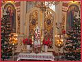 1. A view inside of The Orthodox Holy Trinity Cathedral in Sanok, Poland.JPG