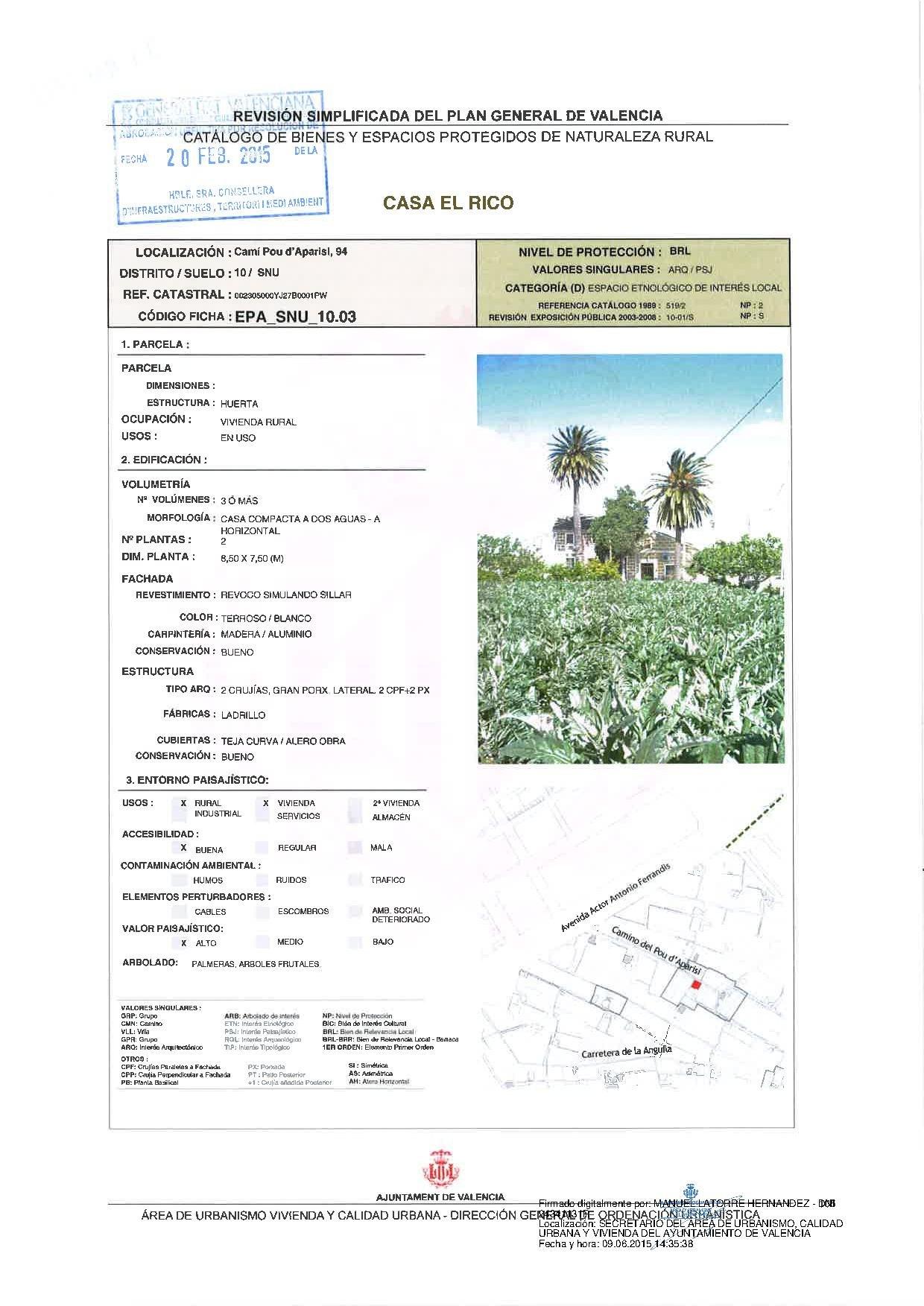 Camino Per La Casa file:10.03-epa casa el rico firmado.pdf - wikimedia commons