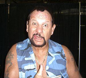 Luke Williams (wrestler) - Luke at the Big Apple Convention in Manhattan, 18 October 2009.
