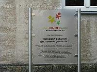1160 Rosenackerstraße 5 - Wohnhausanlage Sandleiten - Franziska Eckstein-Gedenktafel IMG 3046.jpg