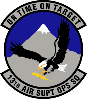 Unit insignia of the 13th Air Support Operatio...