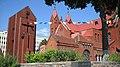 15. 96g 2k 2547 11f - Polish Red Church in Minsk 2009 (3910448403).jpg