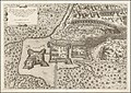 1602 edition of the 1566 map of the Battle of Szigetvár by Antonio Lafreri.jpg