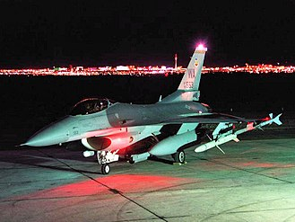 16th Weapons Squadron - F-16C Fighting Falcon from the USAF Fighter Weapons School on the ramp at Nellis AFB