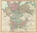 1801 Cary Map of Lower Saxony (Holstein, Lubeck, Lunenburgzell, Bremen, Berlin) - Geographicus - LowerSaxony-cary-1801.jpg