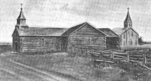 St. Marys, Kansas - Catholic church in St. Marys, 1851