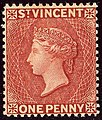 1885ca 1d St Vincent unused Yv33 SG48.jpg