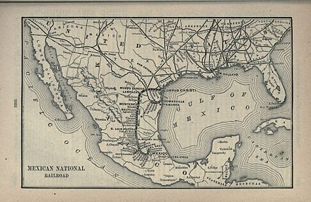 Mexican National Railroad 1891 1891 Poor's Mexican National Railroad.jpg