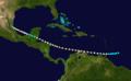 1892 Atlantic hurricane 7 track.png