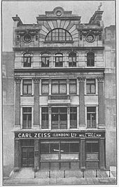 1894 Carl Zeiss subsidiary in London (6892932398).jpg