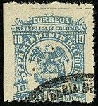 1903 10c Colombia Tolima used Mi56A.jpg