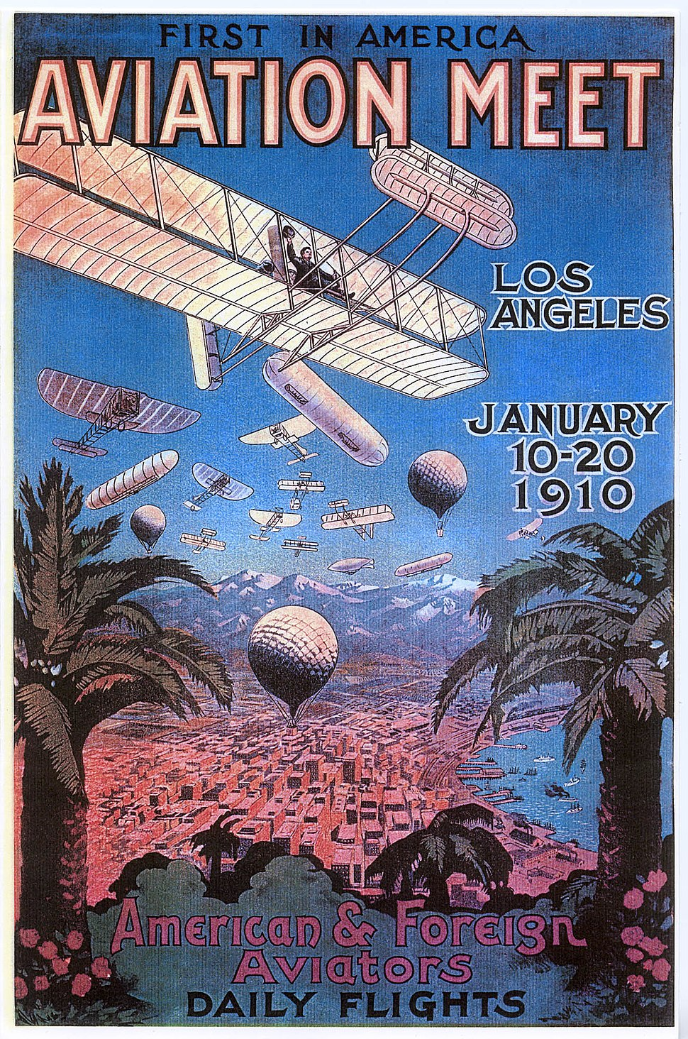 1910 Airmeet Poster