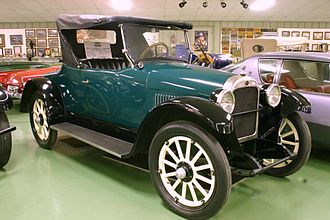 Nash Motors - 1922 Nash Roadster Model 42
