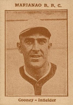 Jimmy Cooney (1920s shortstop) - Image: 1923 Tomas Gutierrez Jimmy Cooney