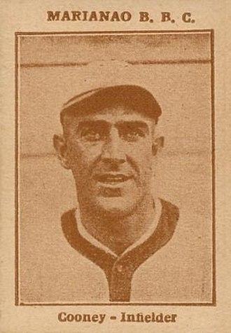 Jimmy Cooney (1920s shortstop) - Image: 1923 Tomas Gutierrez Jimmy Cooney