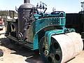 1924 blue Buffalo Springfield steam roller left side.JPG