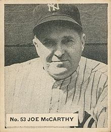 Joe Mccarthy Manager Wikipedia