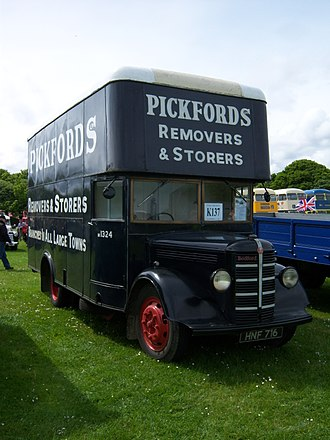 Pickfords - A 1947 pantechnicon van