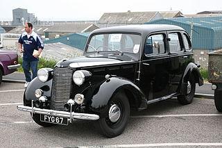 Vauxhall 14-6 Motor vehicle