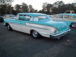 1958 Chevrolet Bel Air hardtop sedan (15607617182).jpg