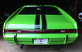 1969 AMC AMX Big Bad Green at Potomac Ramblers meet rear view.jpg