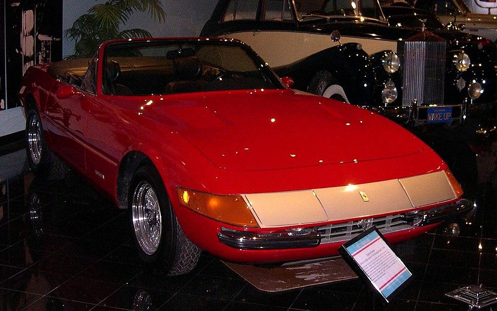 1972 Ferrari Daytona convertible