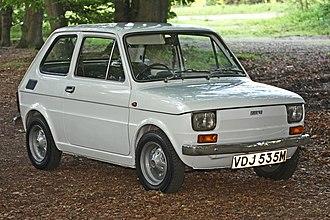 Fiat 126 - Image: 1973 Fiat 126 IMG 7855