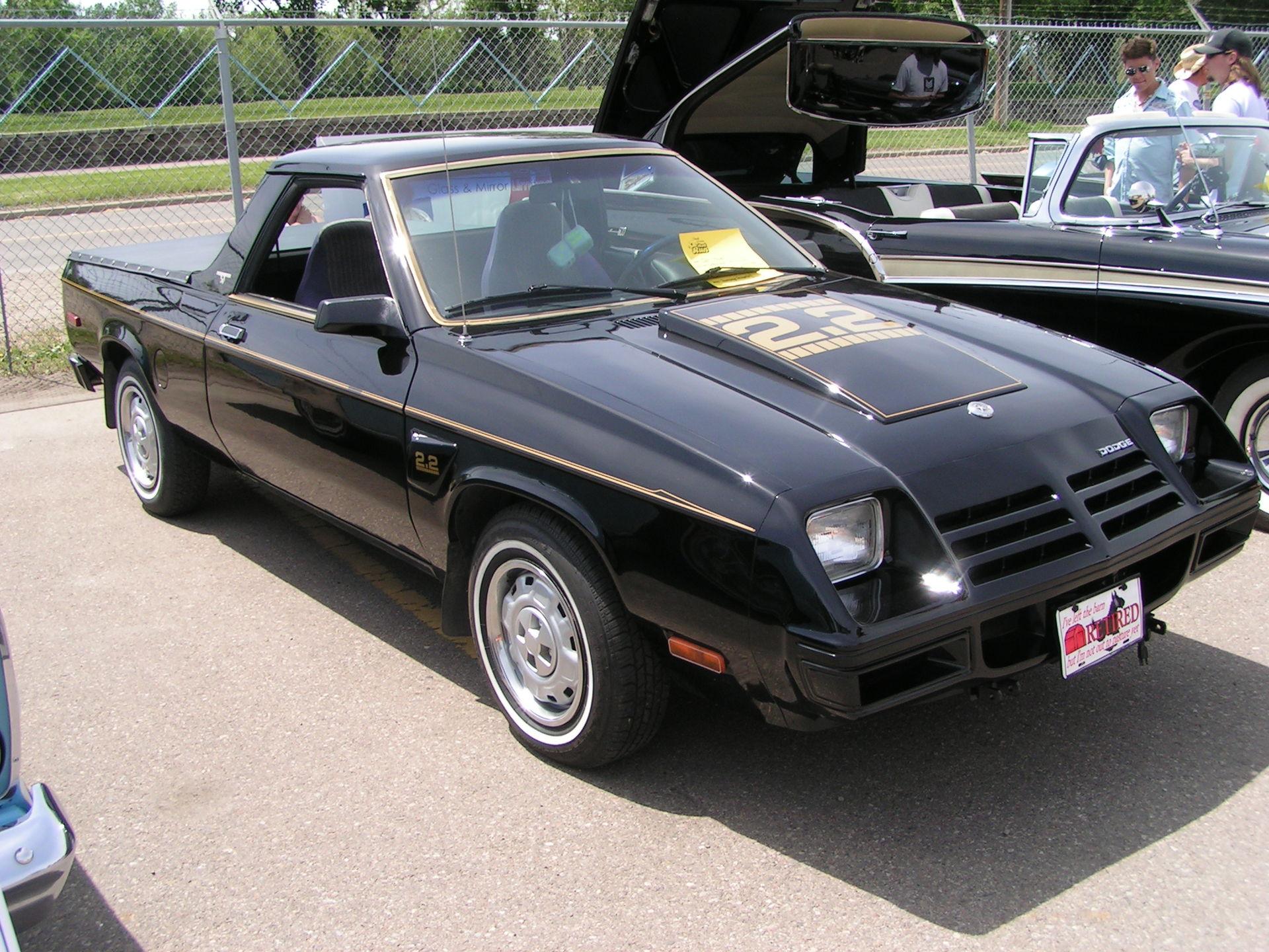 Px Dodge Rampage on 1980 Dodge 4 Door Truck