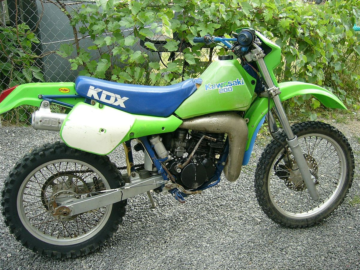 Air Cooled Kdx 200 Photos. Kawasaki Kdx200 1998 1999 2000 Factory Service  Repair Manual .