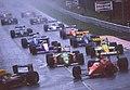 1989 Belgian GP race start 07.jpg