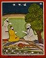 19th century Janam Sakhi, Guru Nanak meets Firanda rabab maker.jpg